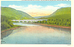 Lackawana Bridge, Delaware River, PA Postcard