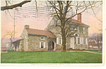 Washington s Headquarters Valley Forge PA Postcard p17832