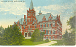 Science Bldg, Millersville Normal School, PA Postcard