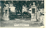 Entrance East Donegal Square,Lancaster, PA Postcard