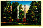 Home of General Hampton, Columbia SC Postcard