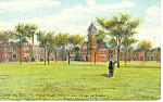 Wm Enstom Old Age Home Charleston SC Postcard