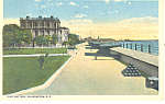 Click here to enlarge image and see more about item p17874: East Battery Charleston SC Postcard 1920