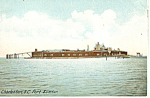 Click here to enlarge image and see more about item p17875: Fort Sumter Charleston SC Postcard