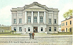 Gibbes Art Gallery, Charleston,SC  Postcard