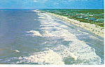 Aerial View Myrtle Beach,SC  Postcard 1966