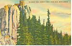 Harney Peak, Black Hills , SD,  Postcard