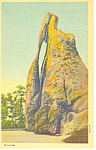 Click here to enlarge image and see more about item p17923: Needles Eye, Black Hills , SD  Postcard