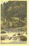Sand Creek Black Hills  SD  Postcard p17926
