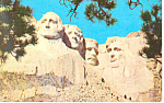 Click here to enlarge image and see more about item p17937: Mt Rushmore National Memorial SD Postcard p17937 1959