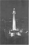 Click here to enlarge image and see more about item p1793: Baltimore MD Washington Monument Postcard p1793
