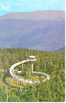 Click here to enlarge image and see more about item p17951: Tower Clingman s Dome Smoky Mountains National Park TN Postcard p17951 1966