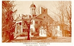 Baltimore MD Hampton Historic Site  Postcard