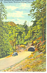 Newfound Gap Highway Tunnel,TN Postcard