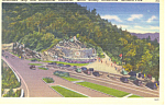 Rockefeller Memorial Smoky Mountains National Park TN Postcard p18003