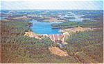 Click here to enlarge image and see more about item p1800: Baltimore County MD Liberty Dam  Postcard p1800