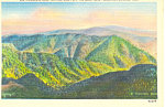 Click here to enlarge image and see more about item p18014: Clingmans Dome Great Smoky Mountains National Park TN Postcard p18014