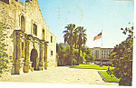 Click here to enlarge image and see more about item p18027: The Alamo  San Antonio  TX Postcard p18027 1975
