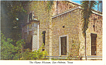 Click here to enlarge image and see more about item p18032: The Alamo Museum San Antonio  TX Postcard p18032