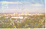 Click here to enlarge image and see more about item p18034: Skyline San Antonio  TX Postcard p18034 1953