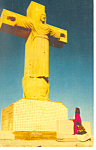 Click here to enlarge image and see more about item p18038: Cristo Rey El Paso TX Postcard p18038