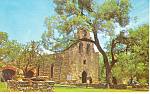 Mission San Francisco, San Antonio, TX Postcard