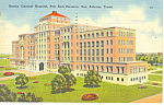 Brooke Hospital, San Antonio, TX Postcard 1945