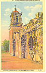 Mission San Jose, San Antonio, TX Postcard