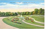 Rose Garden Cameron Park, Waco, TX Postcard