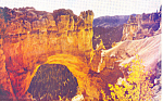 Click here to enlarge image and see more about item p18125: Natural Bridge, Bryce Canyon National Park,UT Postcard