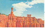 Click here to enlarge image and see more about item p18138: Temple Osiris,Bryce Canyon National Park UT Postcard