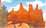 Click here to enlarge image and see more about item p18140: Queens Garden Bryce Canyon National Park UT Postcard p18140