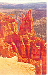 Click here to enlarge image and see more about item p18142: Little Bryce Bryce Canyon National Park UT Postcard p18142