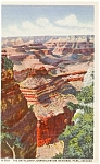 Click here to enlarge image and see more about item p1814: The Battleship Grand Canyon  AZ   Postcard