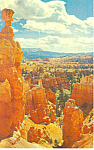 Click here to enlarge image and see more about item p18158: Thors Hammer,Bryce Canyon National Park,UT Postcard