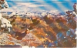 Click here to enlarge image and see more about item p1818: Grand Canyon  National Park AZ Postcard p1818