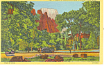 Temple Sinawava Zion National Park UT Postcard p18204