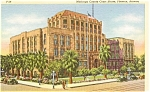 Maricopa County Court House AZ Postcard p1820