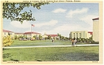 Click here to enlarge image and see more about item p1821: Phoenix AZ High School Campus Postcard p1821