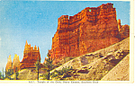 Temple of Gods, Bryce Canyon National Park UT Postcard