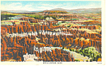 Click here to enlarge image and see more about item p18223: Bryce Canyon National Park UT Postcard
