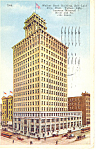 Walker Bank Bldg Salt Lake City UT Postcard p18229 1924