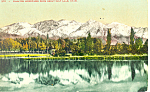 Wasatch Mountains UT Postcard p18231 1908