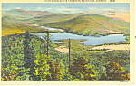 Click here to enlarge image and see more about item p18250: Chittenden Dam Vermont Postcard 1943