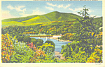 Mt Ascutney, Vermont Postcard 1943