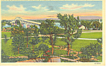 New Lake Champlain Bridge Vermont Postcard p18253 1947