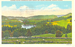 Connecticut River Fairlee Palisades, VT Postcard 1950