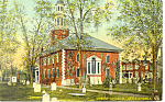Christ Church Alexandria VA Postcard p18286