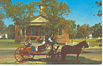 Courthouse, Willamsburg,VA Postcard