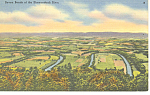Seven Bends Shenandoah National Park VA Postcard p18322